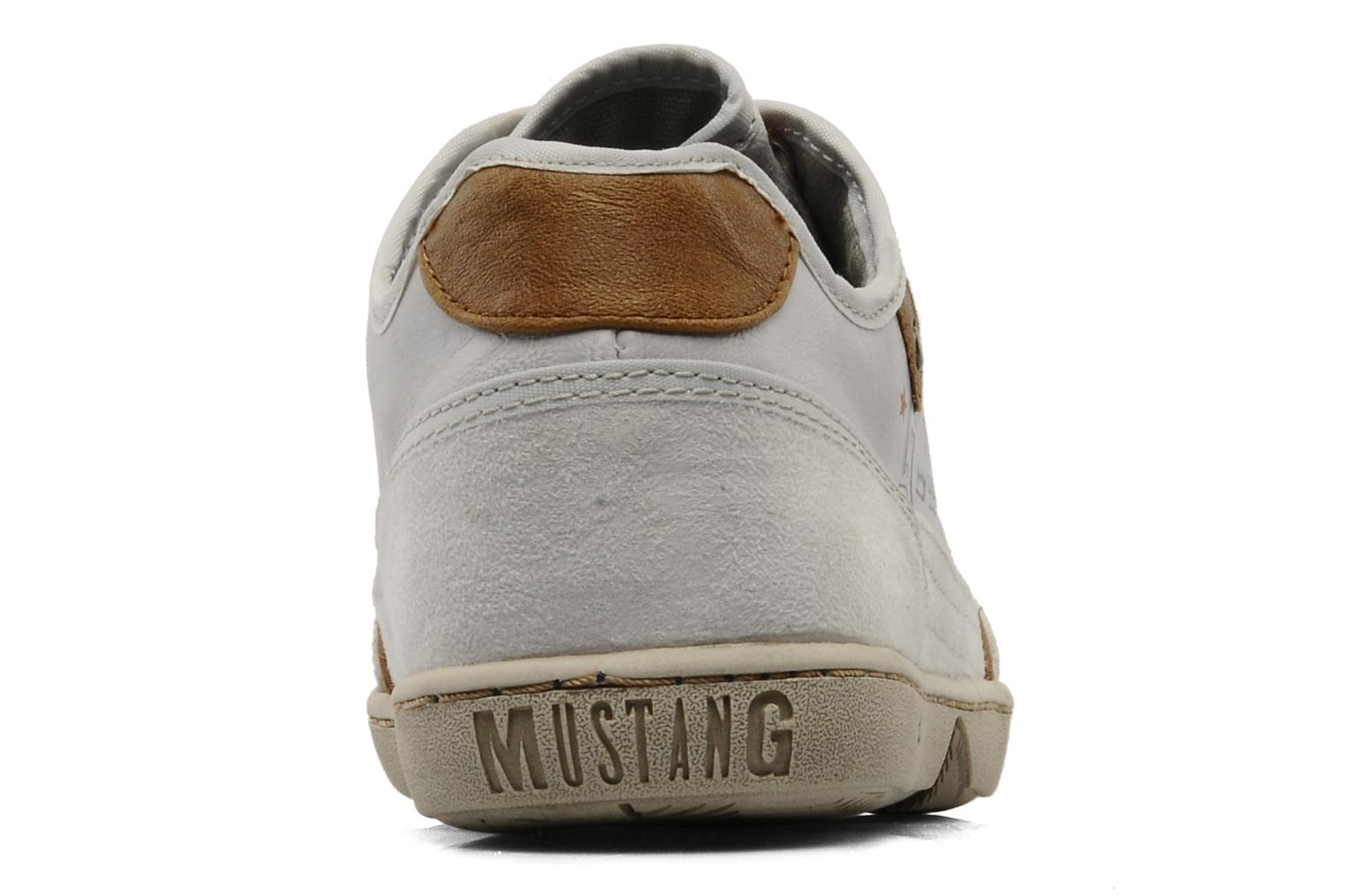 Baskets Mustang shoes Kimo Blanc vue droite