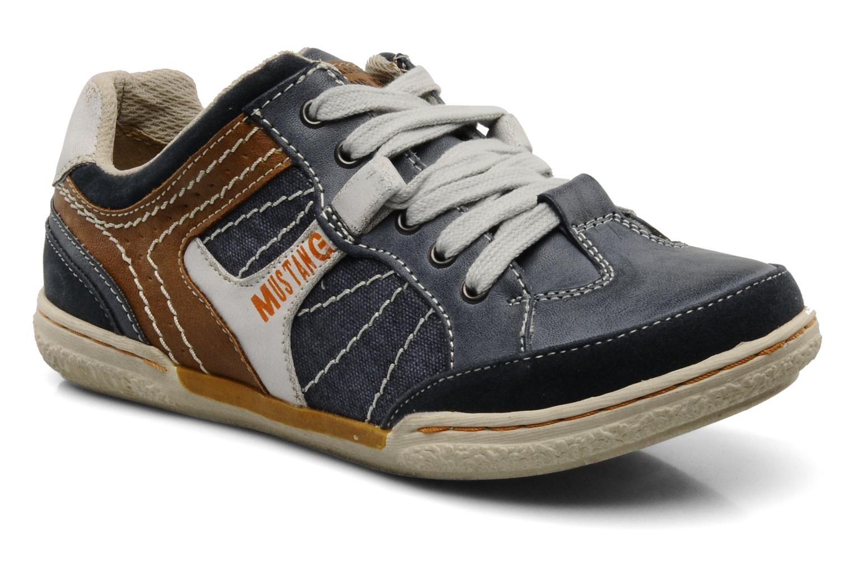 Sneakers Mustang shoes Yupo Blauw detail