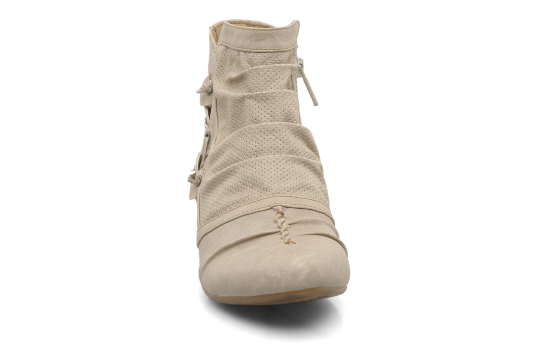Stiefeletten & Boots Mustang shoes Macere beige schuhe getragen