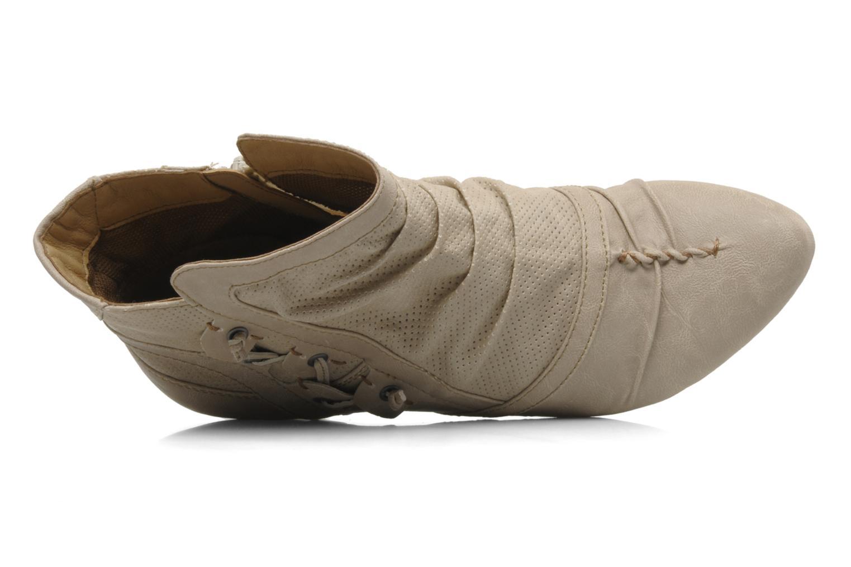 Stiefeletten & Boots Mustang shoes Macere beige ansicht von links