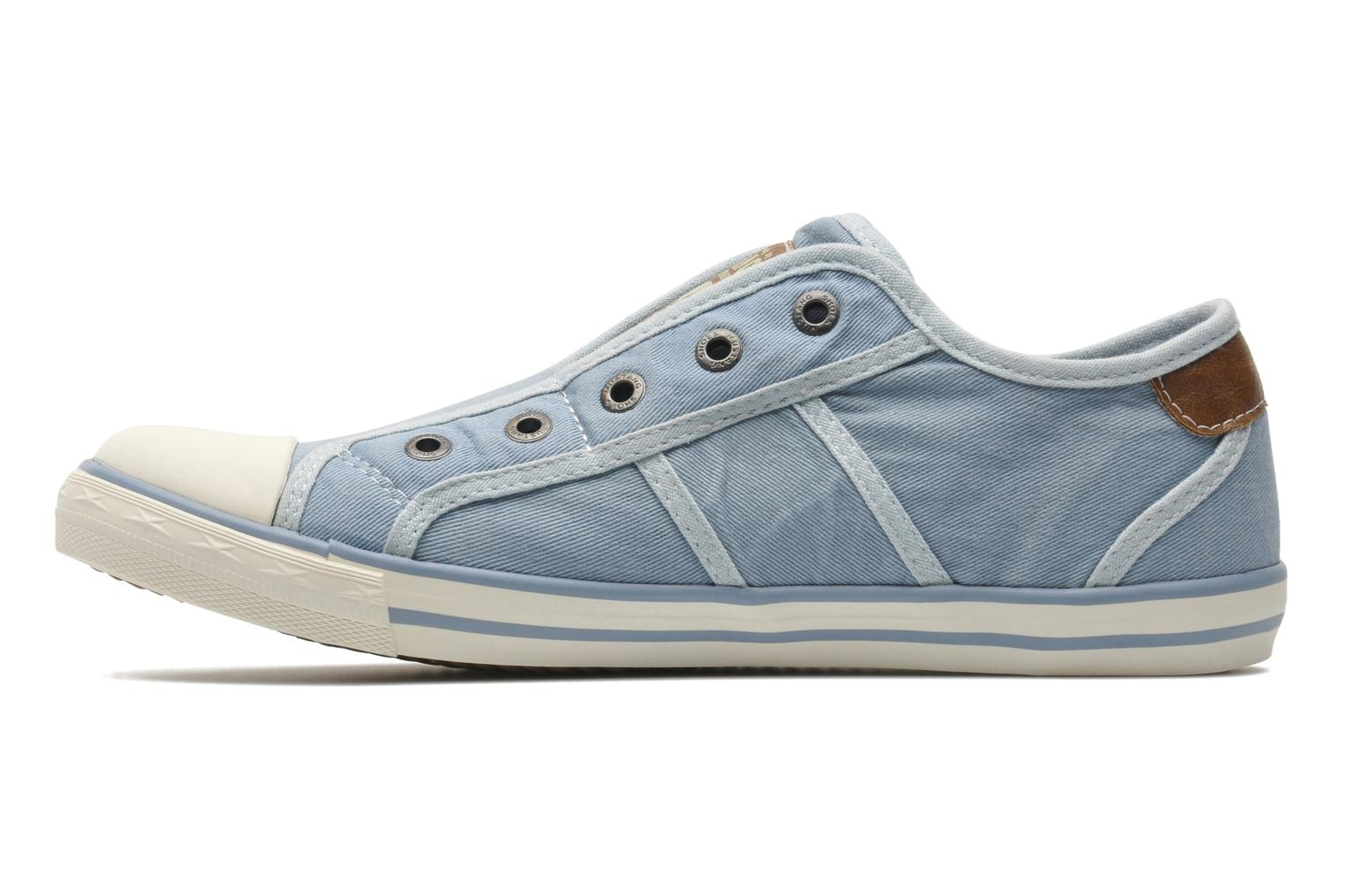 Trainers Mustang shoes Marcus Blue front view