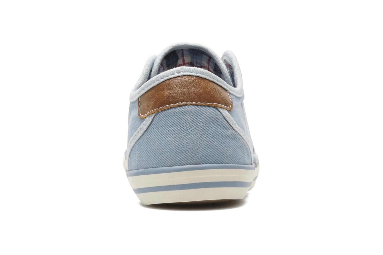 Baskets Mustang shoes Marcus Bleu vue droite