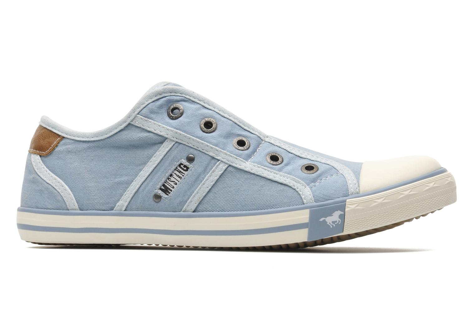 Trainers Mustang shoes Marcus Blue back view