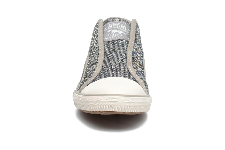 Baskets Mustang shoes Marcus Argent vue portées chaussures