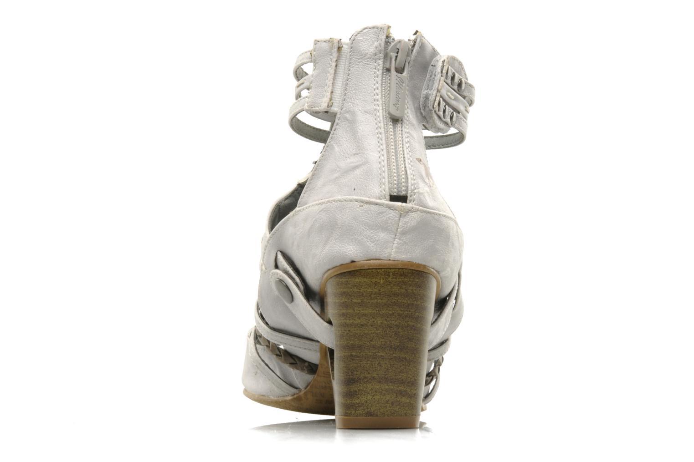 Sandali e scarpe aperte Mustang shoes Momine Bianco immagine destra