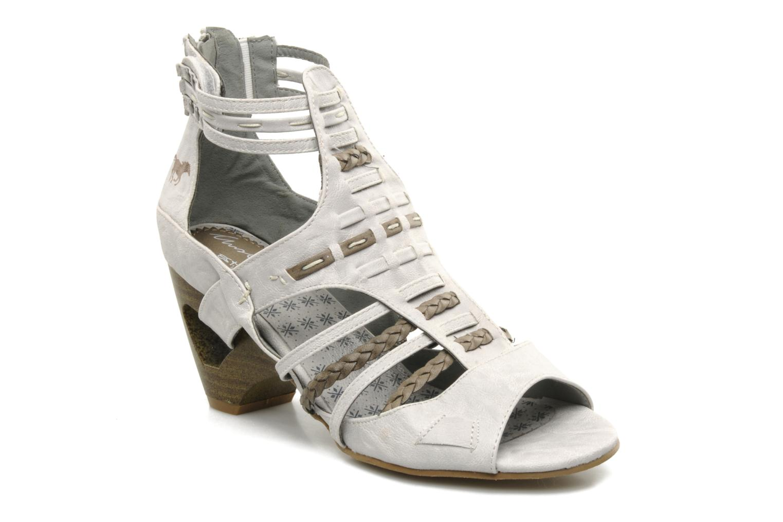 Sandales et nu-pieds Mustang shoes Momine Blanc vue détail/paire