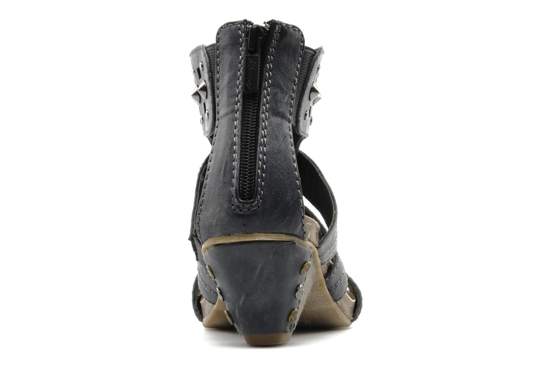 Sandali e scarpe aperte Mustang shoes Myrthie Azzurro immagine destra