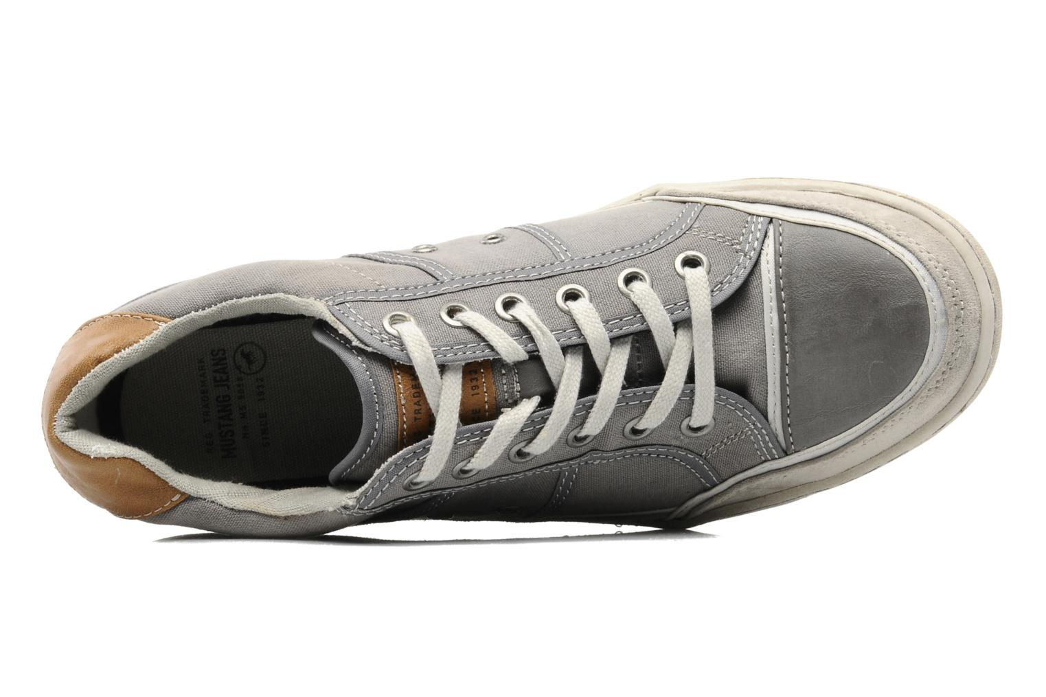 Baskets Mustang shoes Dolfine Gris vue gauche