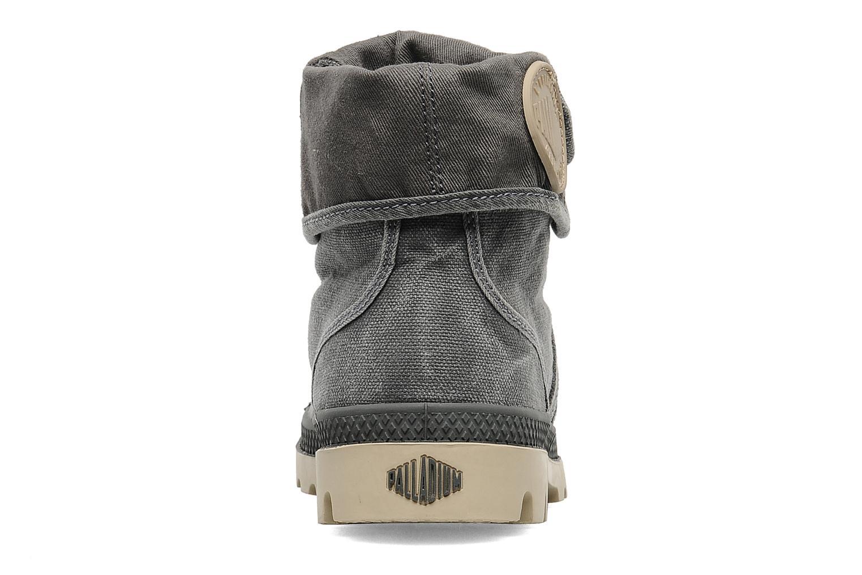 Sneaker Palladium Us Baggy F grau ansicht von rechts