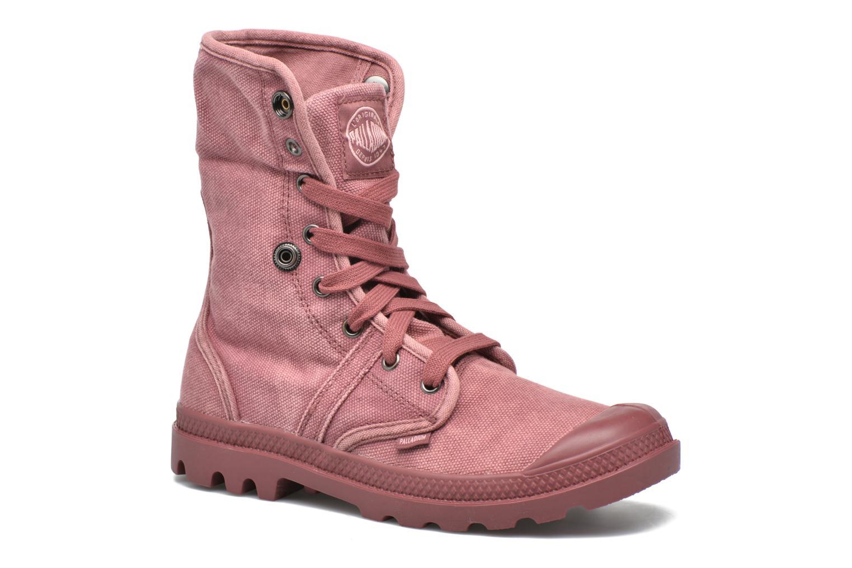 Sneakers Palladium Us Baggy F Rood 3/4'