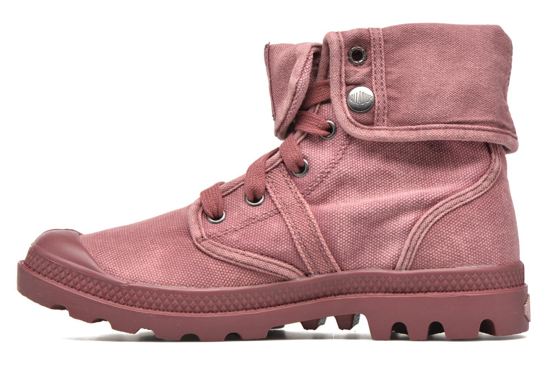 Sneakers Palladium Us Baggy F Rood voorkant