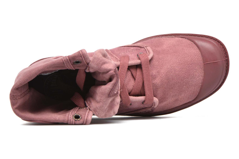 Sneaker Palladium Us Baggy F rot ansicht von links