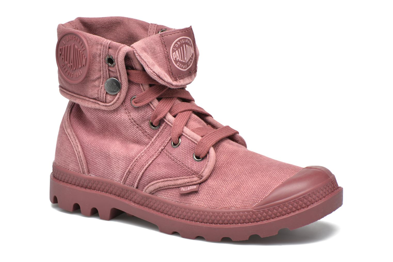 Sneakers Palladium Us Baggy F Rood detail