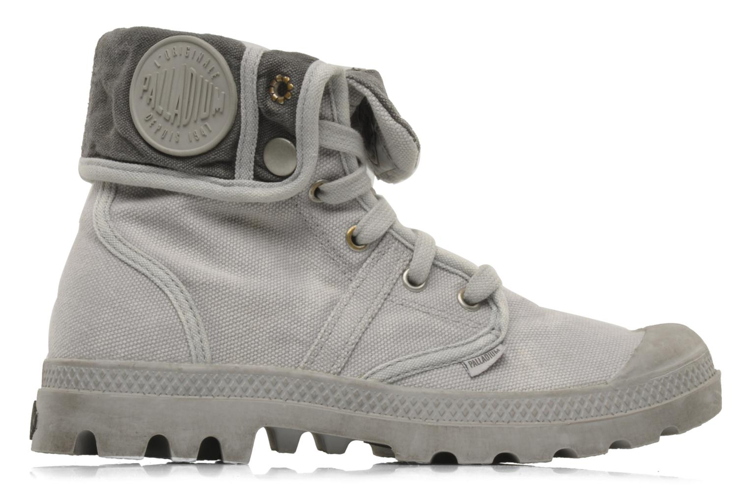Trainers Palladium Us Baggy F Grey back view