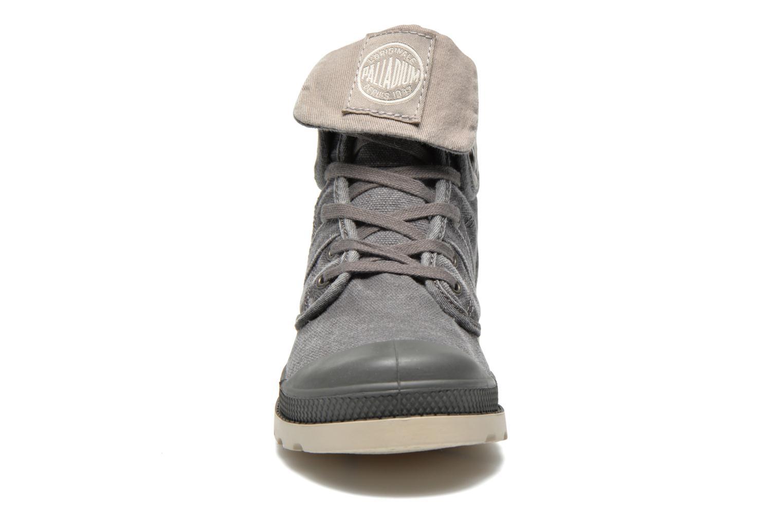 Bottines et boots Palladium Baggy kid Gris vue portées chaussures