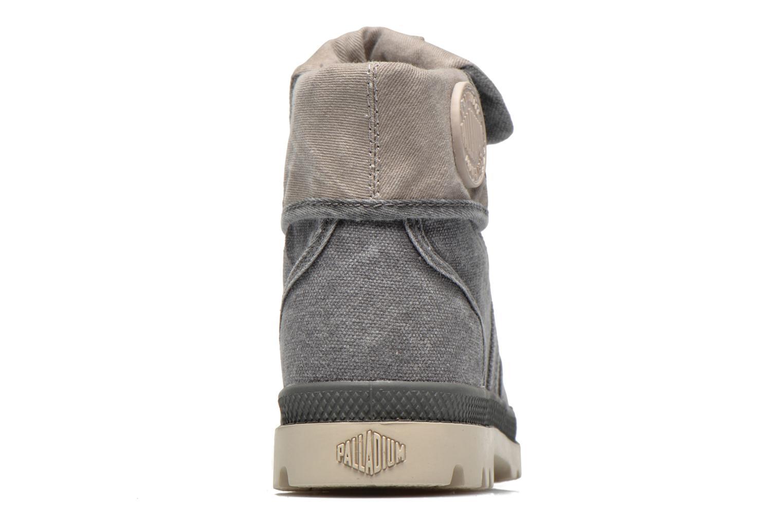 Bottines et boots Palladium Baggy kid Gris vue droite