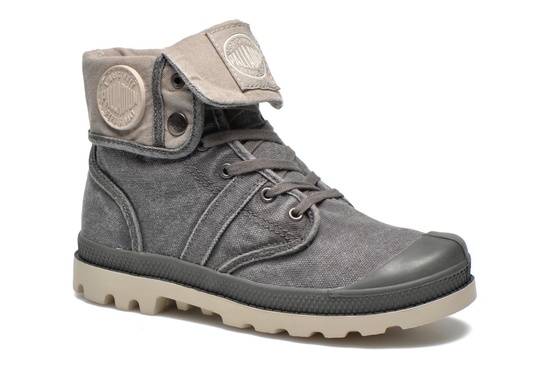 Bottines et boots Palladium Baggy kid Gris vue détail/paire