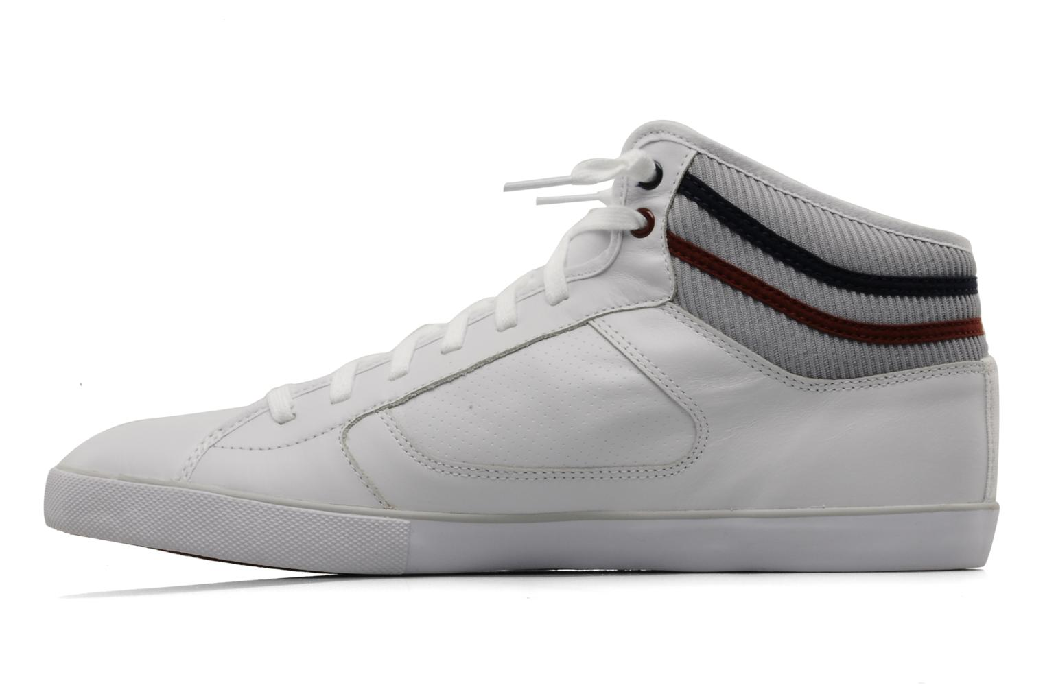 Camous Vy White-Dark Red