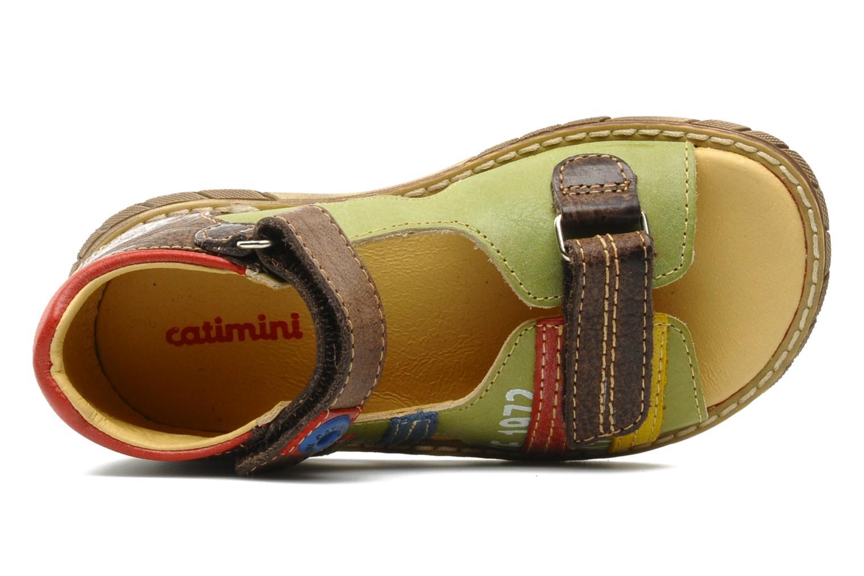 Sandalias Catimini Cairo Multicolor vista lateral izquierda