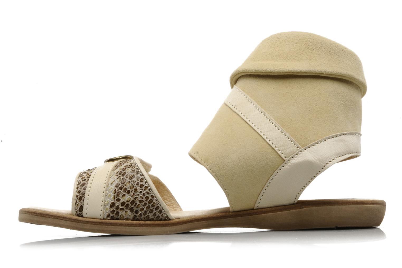 Sandales et nu-pieds Hip Hiloa Beige vue face