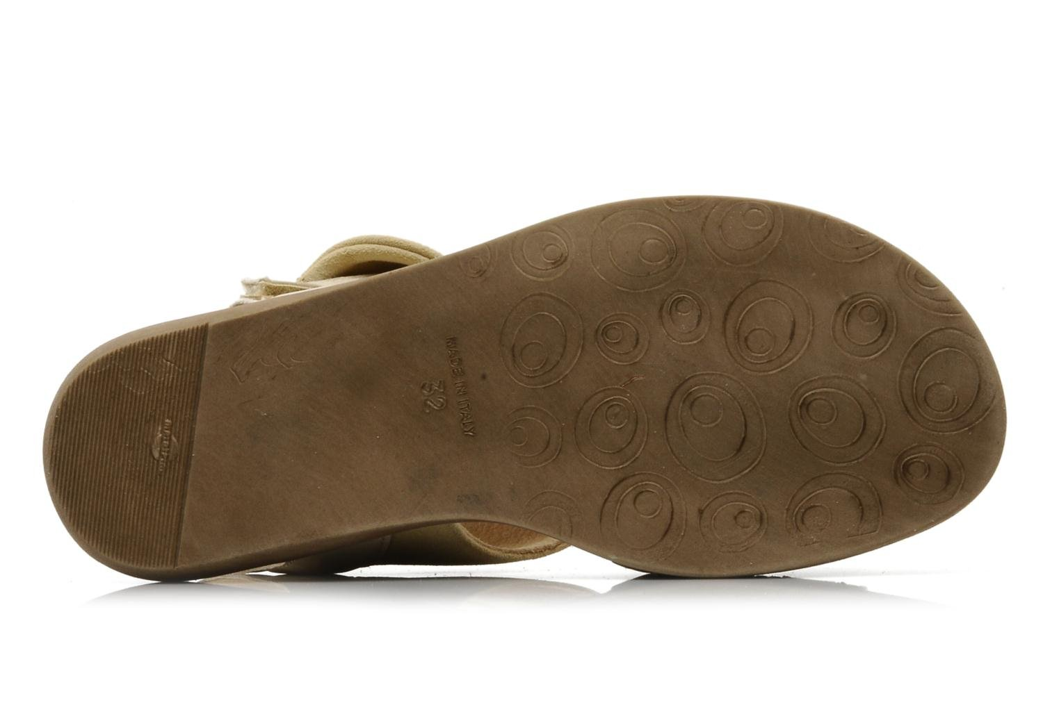 Sandals Hip Hiloa Beige view from above