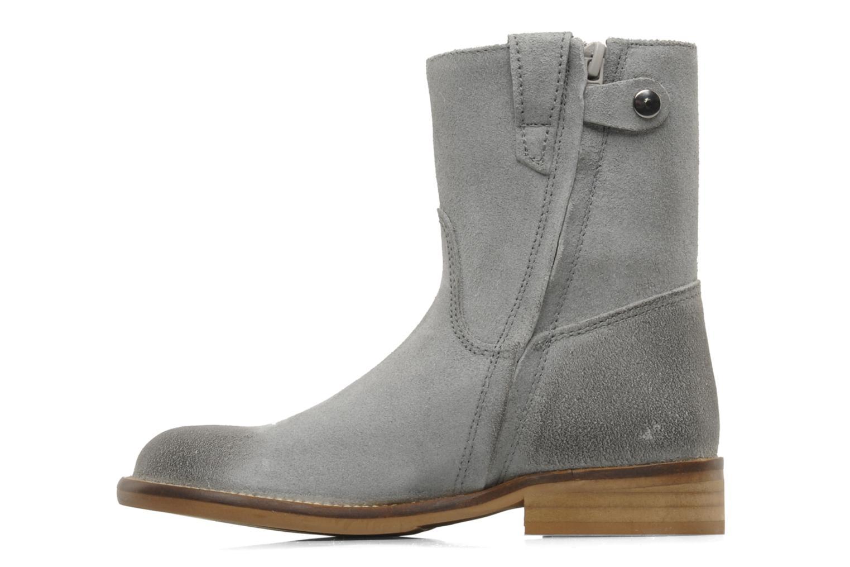 Bottines et boots Hip Hini Gris vue face