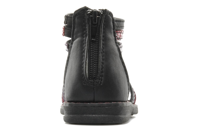 Sandalen I Love Shoes Stefania schwarz ansicht von rechts