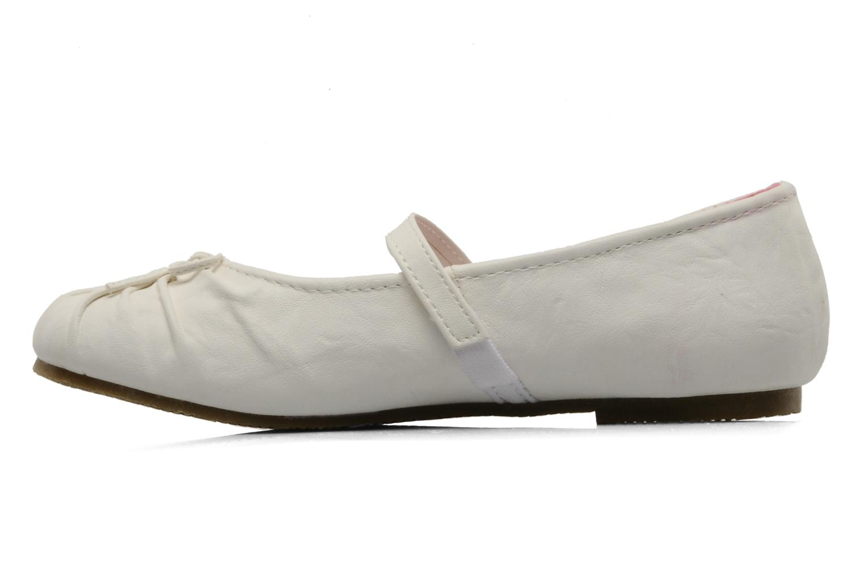 Ballerines I Love Shoes Perla Blanc vue face
