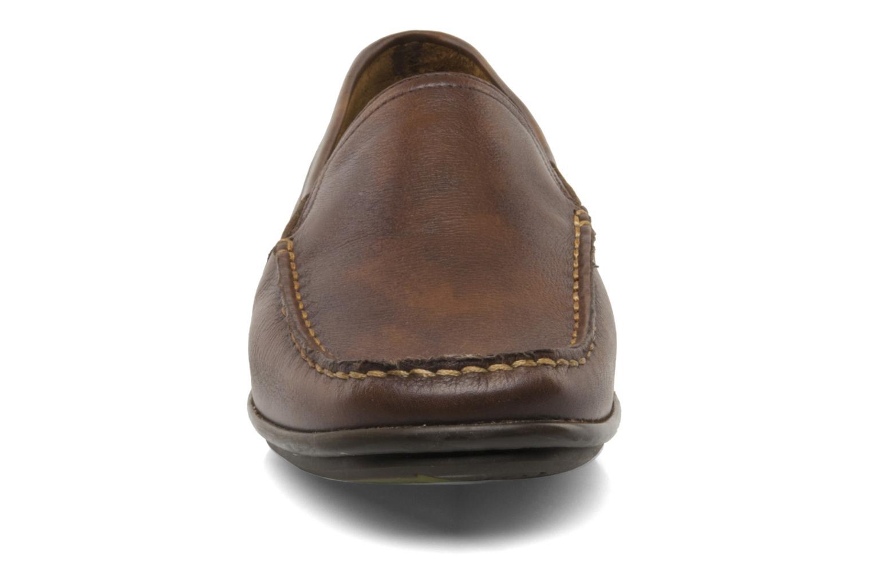 Mocassins Fluchos Baltico 7149 Marron vue portées chaussures