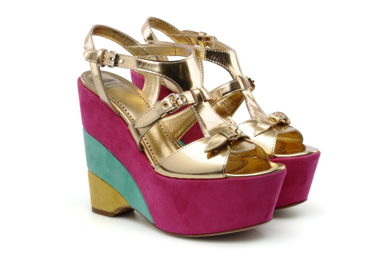 Sandales et nu-pieds Moschino Cheap & Chic Cepale Multicolore vue 3/4