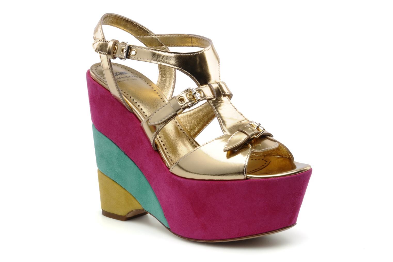 Sandalias Moschino Cheap & Chic Cepale Multicolor vista de detalle / par