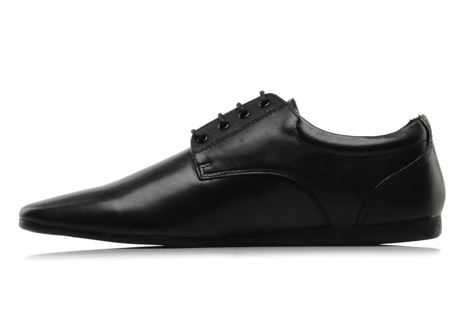 Lace-up shoes Schmoove Fidji New Derby Lucas Leather Black front view