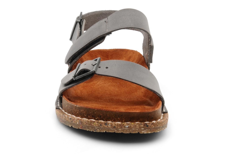Sandales et nu-pieds Art Frankfurt 130 Gris vue portées chaussures