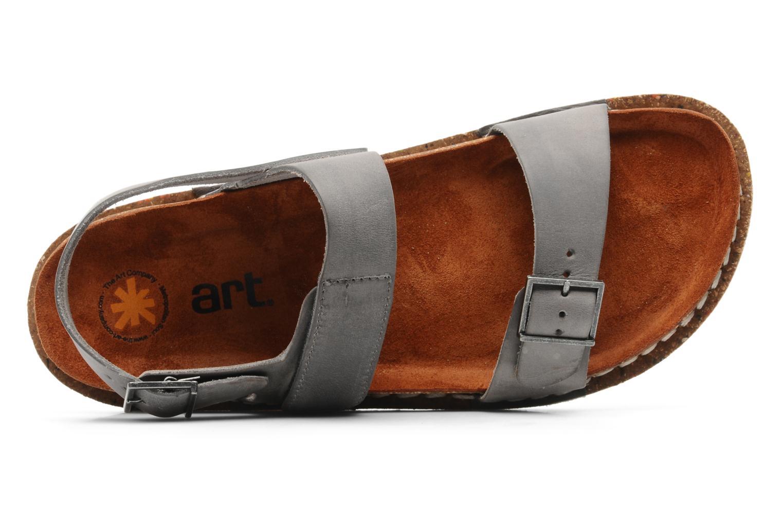 Sandales et nu-pieds Art Frankfurt 130 Gris vue gauche