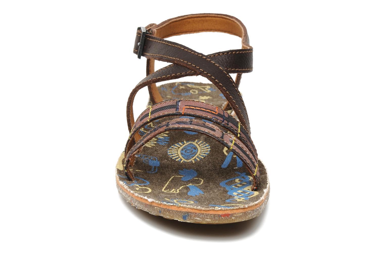 Sandales et nu-pieds Art Zurich 030 Marron vue portées chaussures