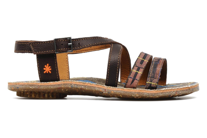Sandales et nu-pieds Art Zurich 030 Marron vue derrière