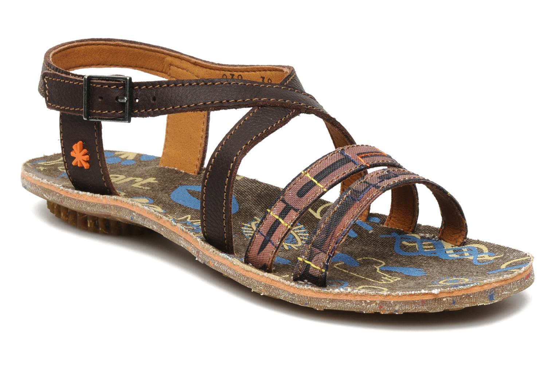 Sandales et nu-pieds Art Zurich 030 Marron vue détail/paire