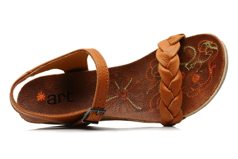 Sandales et nu-pieds Art Menorca 290 Marron vue gauche
