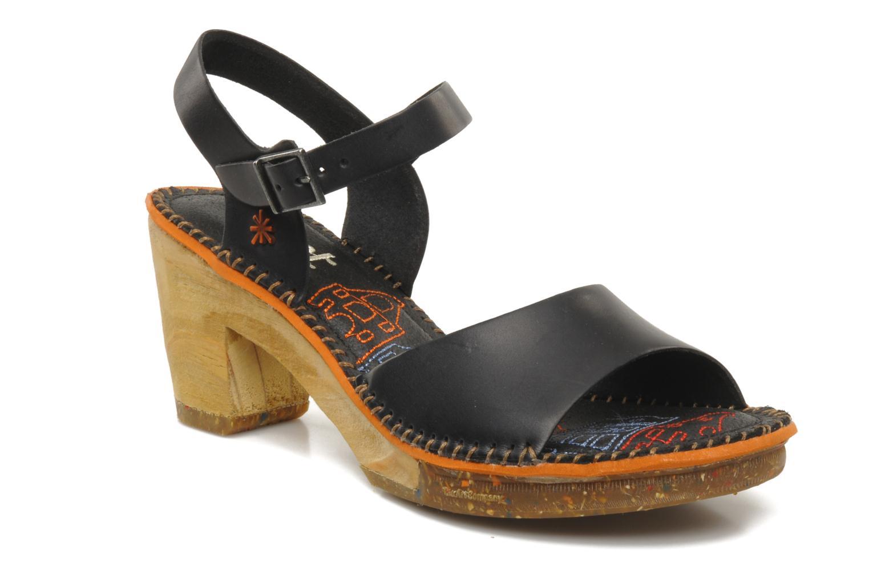 Sandales et nu-pieds Art Amsterdam 325 Noir vue détail/paire