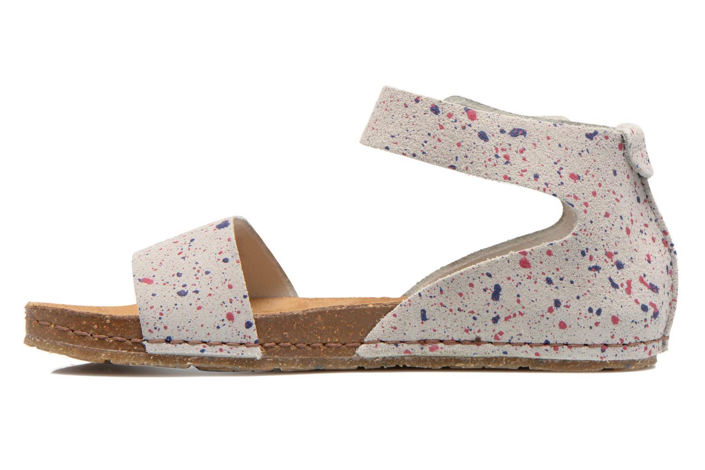Sandales et nu-pieds Art Creta 440 Blanc vue face