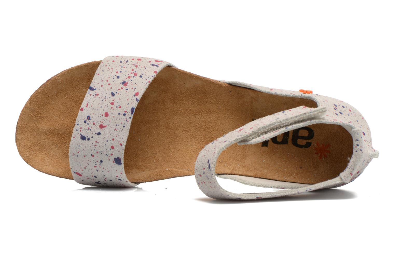 Sandales et nu-pieds Art Creta 440 Blanc vue gauche