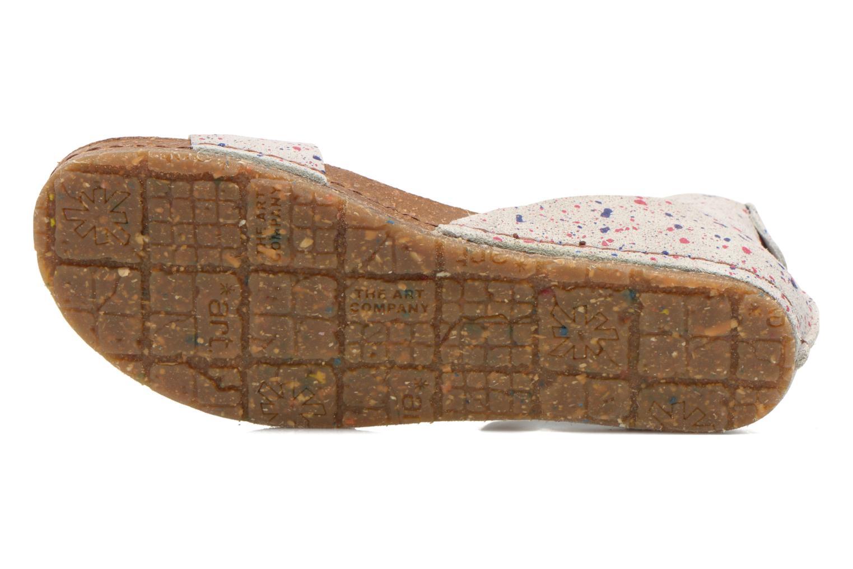 Sandali e scarpe aperte Art Creta 440 Bianco immagine dall'alto