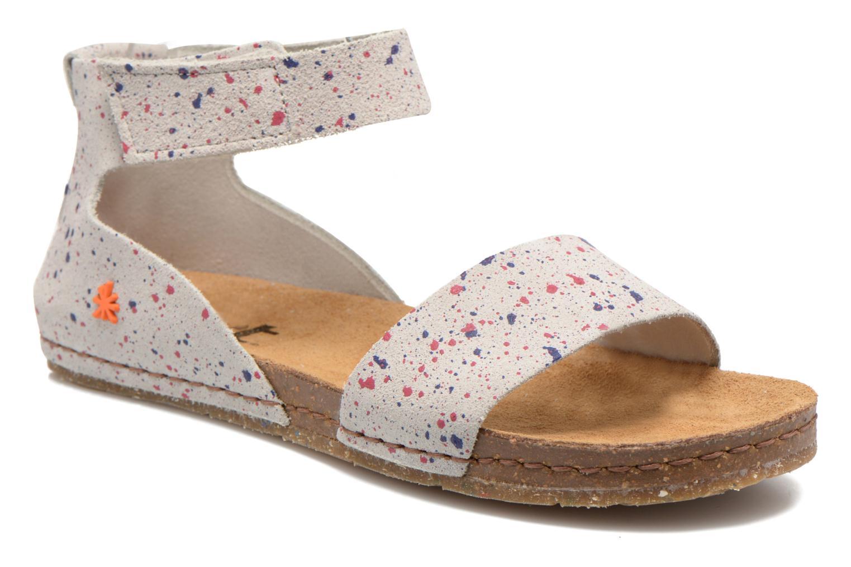 Sandales et nu-pieds Art Creta 440 Blanc vue détail/paire