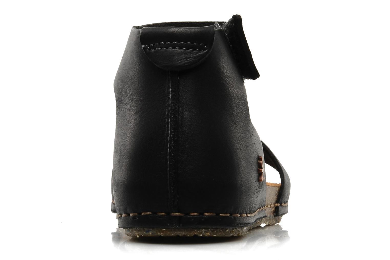 Sandales et nu-pieds Art Creta 440 Noir vue droite