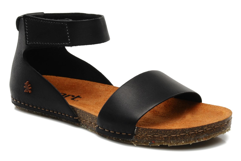 Sandales et nu-pieds Art Creta 440 Noir vue détail/paire