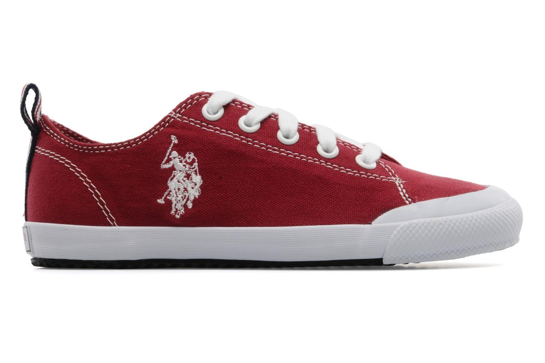 Sneakers U.S Polo Assn. Boris Rood achterkant