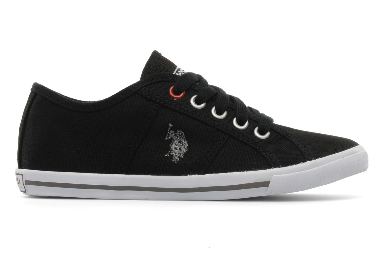 Sneakers U.S Polo Assn. Bange Zwart achterkant