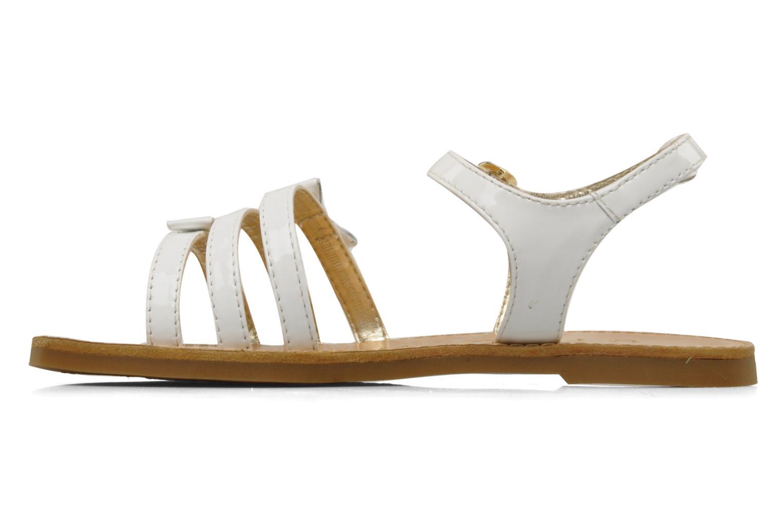 Sandals Unisa Yastin White front view