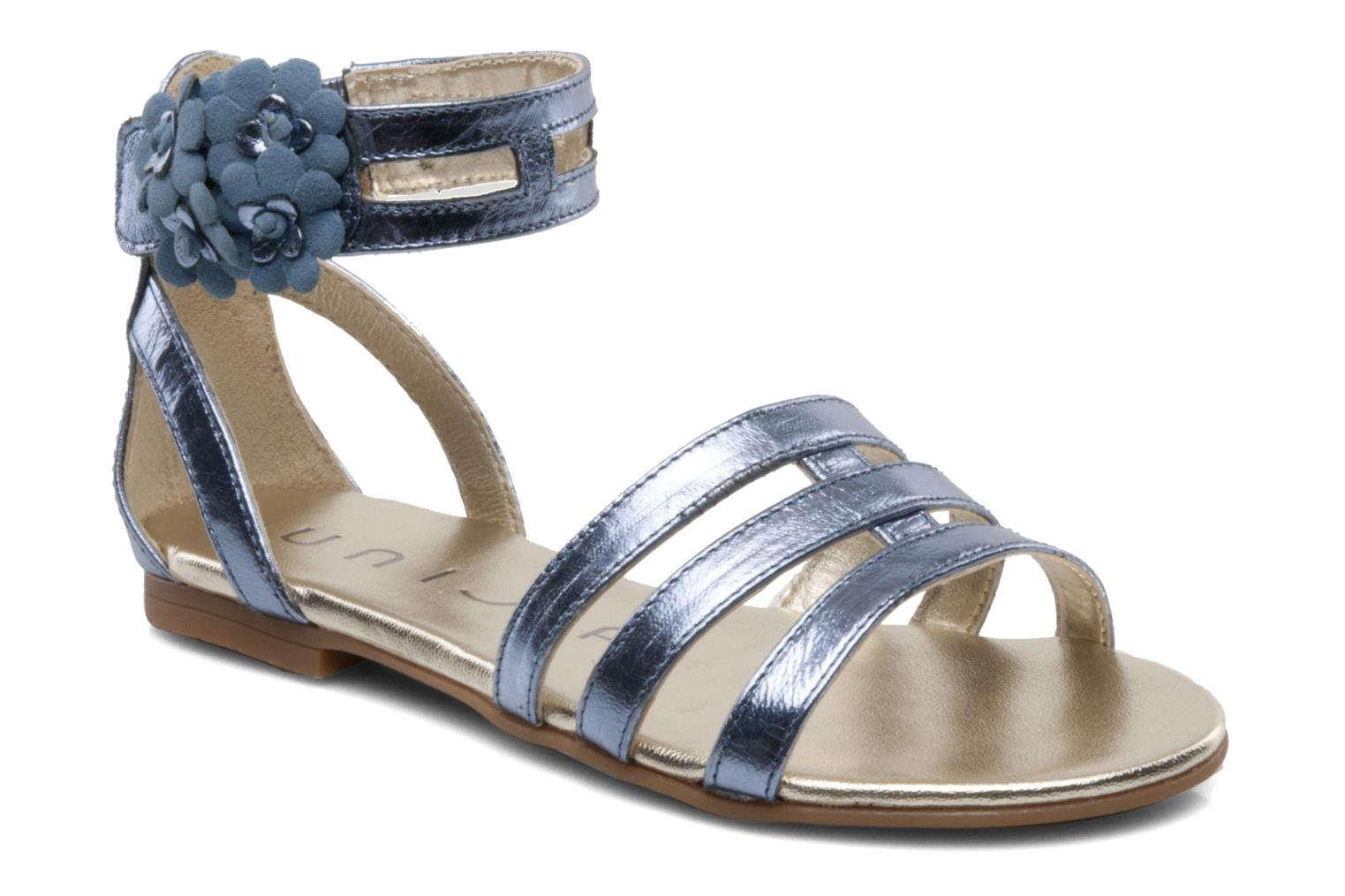Sandals Unisa Lilo Blue detailed view/ Pair view