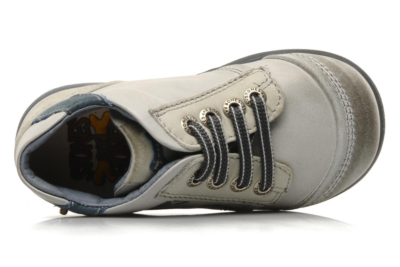 Sneaker Stones and Bones Sul grau ansicht von links